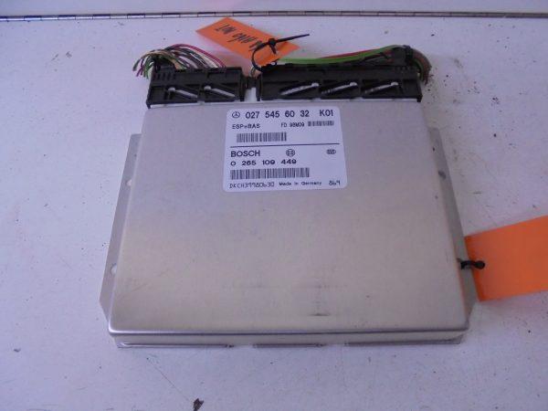 A-KLASSE W168 RELAIS MODULE ESP A0275456032-0